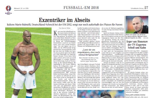 Exzentriker auf dem Abstellgleis   Sport Schwäbische Zeitung