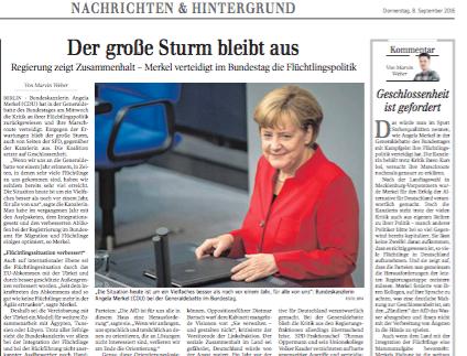 Generaldebatte im Bundestag  Politik Schwäbische Zeitung