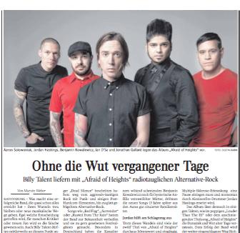 Ohne die Wut vergangener Tage  Kultur Schwäbische Zeitung