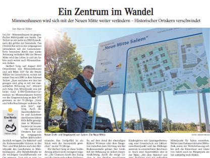 Ein Zentrum im Wandel   Schwäbische Zeitung Lokales