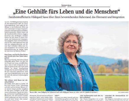 """""""Eine Gehhilfe fürs Leben und die Menschen""""  Schwäbische Zeitung Lokales"""