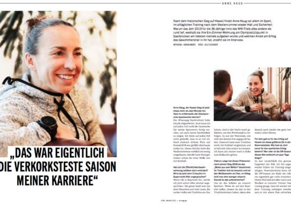 Weltmeisterin Anne Haug im Interview  triathlon 176