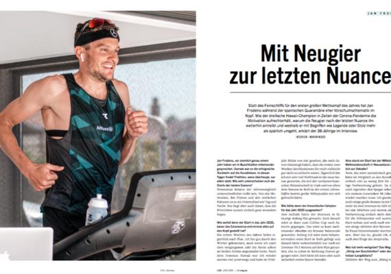 Jan Frodeno: Mit Neugier zur letzten Nuance  triathlon 180