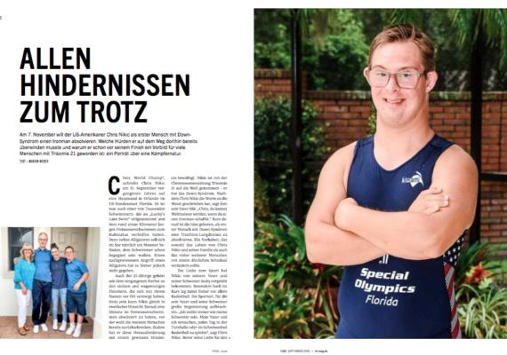 Chris Nikic –allen Hindernissen zum Trotz  triathlon 183