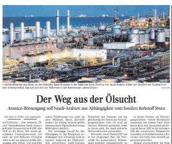 Der Weg aus der Ölsucht | Wirtschaft Schwäbische Zeitung