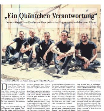Donots Interview | Kultur Schwäbische Zeitung