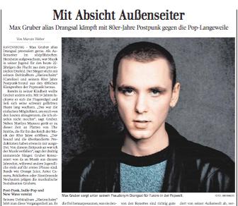 Mit Absicht Außenseiter |Kultur Schwäbische Zeitung