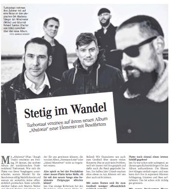 Turbostaat Interview | Kultur Schwäbische Zeitung