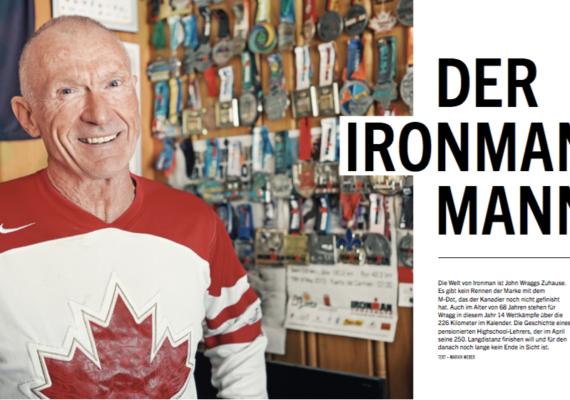 Der Ironman-Mann | triathlon 169